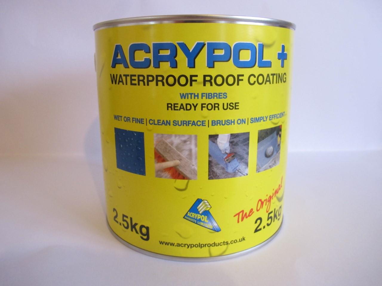 Acrypol+ now in a 2.5kg tin