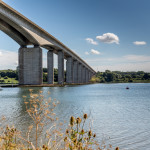 200 tonne tidal gate arrival makes a splash in Ipswich