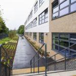 Disused football stadium becomes school