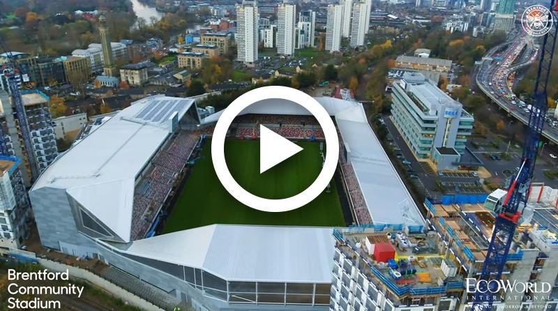 Brentford FC New Stadium – A Bird's Eye View