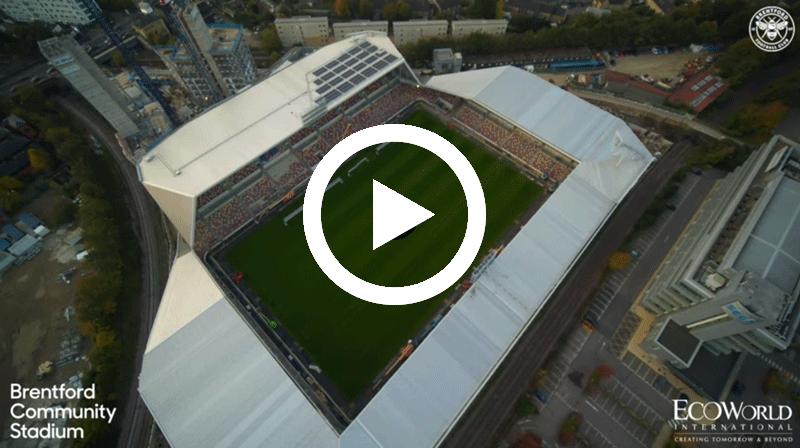 Brentford Community Stadium – A bird's eye view