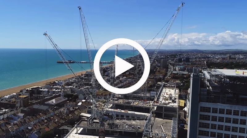 Brighton 3Ts drone flyover