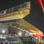Carpenters Land Bridge installed at Queen Elizabeth Olympic Park