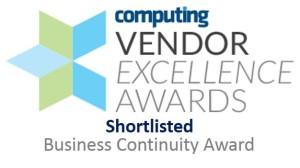 Computing Vendor Excellence Awards - shortlisted