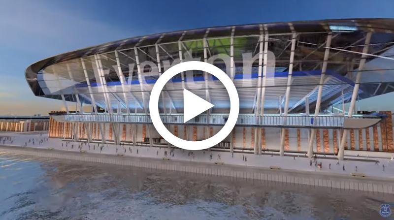Everton's New Stadium Design Plans