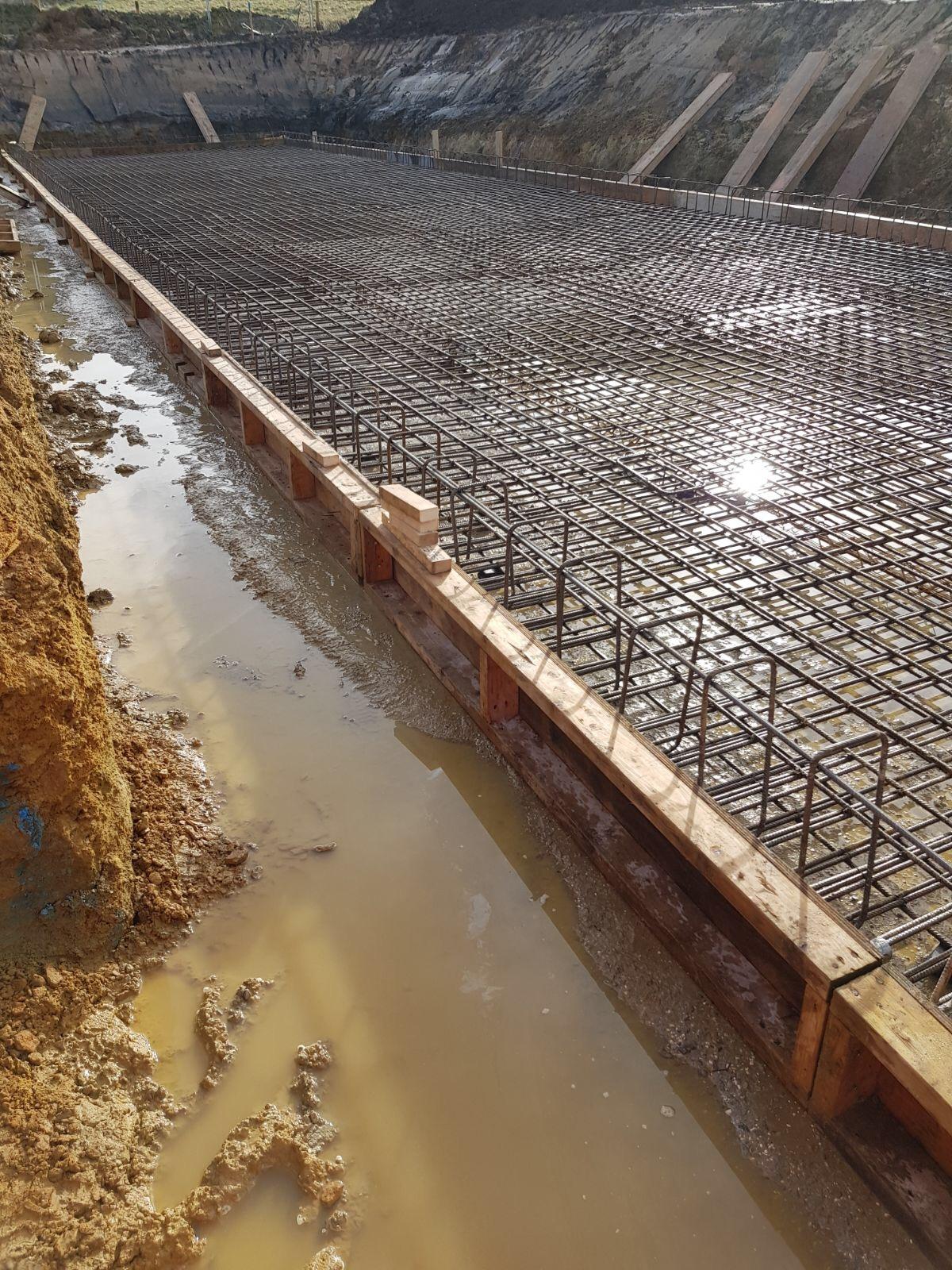 FP McCann installs Large Precast Attenuation Tank at Holmfirth Housing Development
