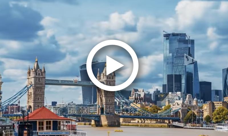 "Inside London's ""Gotham City"" Skyscraper"
