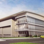New aircraft hangar underway at Farnborough
