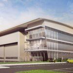 New aircraft hangar underway at Farnborough