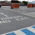 Haymarket Car Park refurbished in Leicester