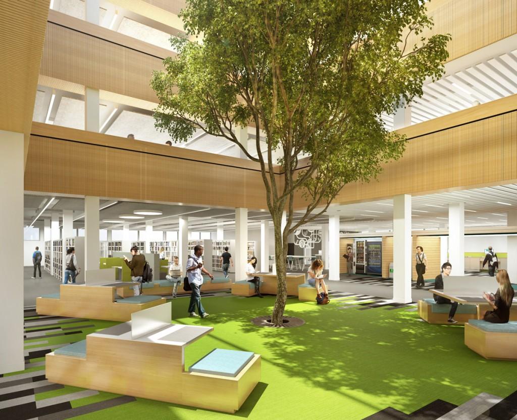 163 8 6m Refurbishment Planned For Lancaster University Library