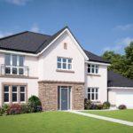 Linlithgow housing estate under construction