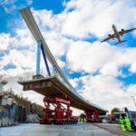 Luton DART bridge installed ahead of schedule