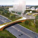 M8 pedestrian bridge to be built in Glasgow