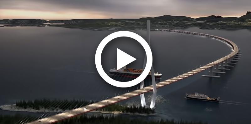 Norway's $47BN Floating Highway