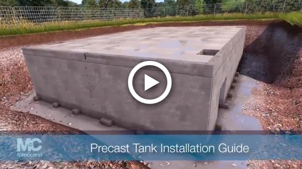 Precast Tank Installation Guide in Brentwood Leyburn