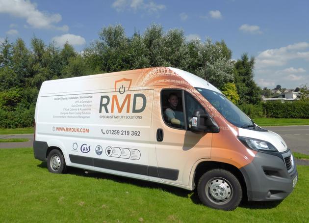 RMD-New-Logo-Van