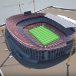 Timelapse video of Barcelona's Nou Camp upgrade plans released