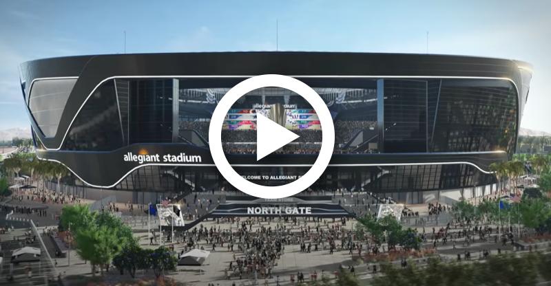 Las Vegas' $1.8BN Mega Stadium