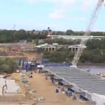 Video: Bridge deck on New Wear Crossing put in place
