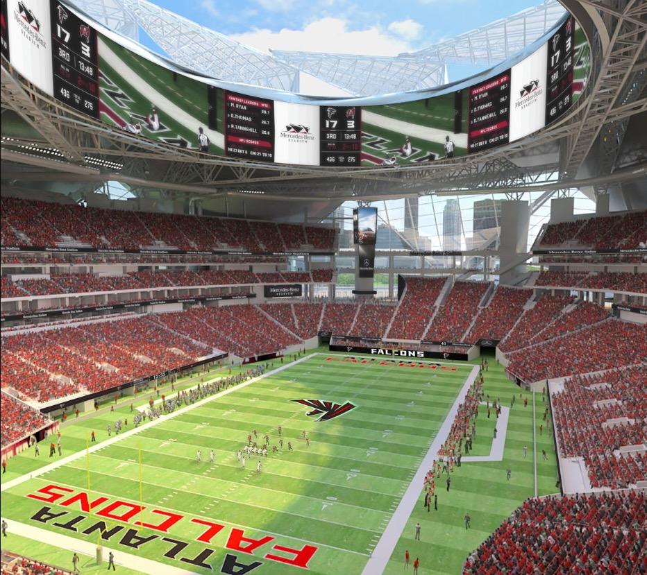 Video Roof raised on Mercedes-Benz stadium3