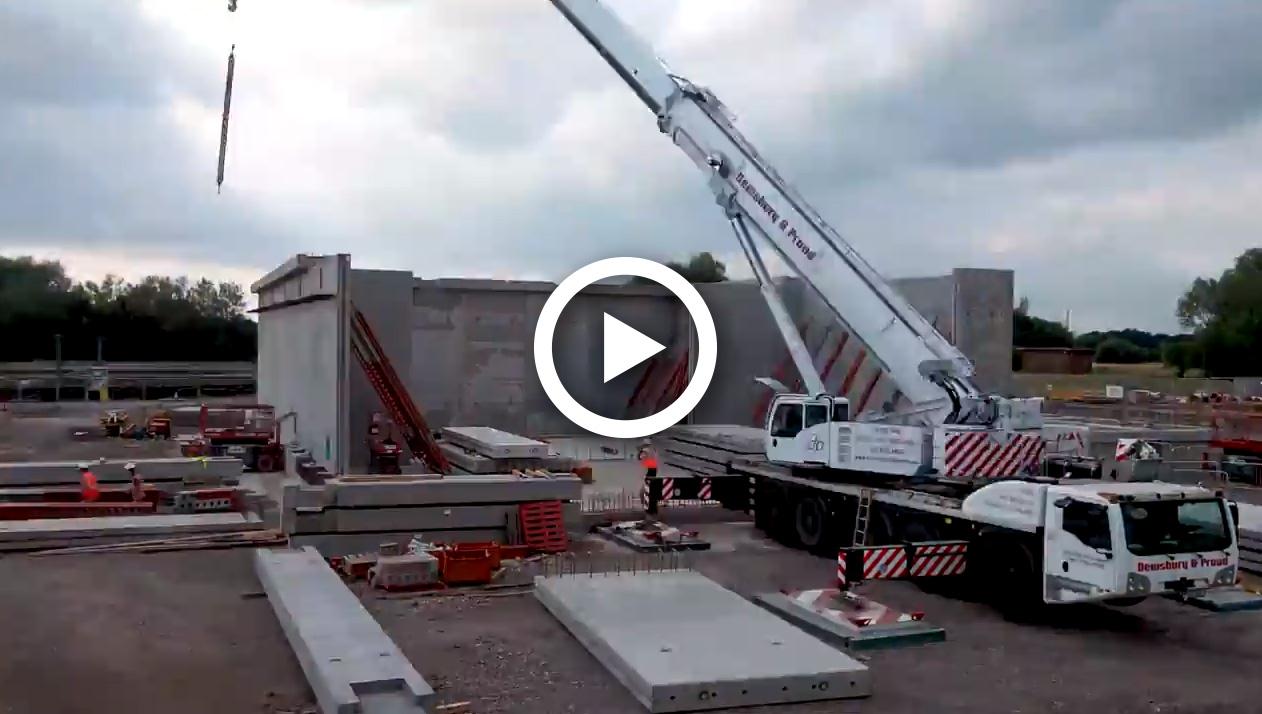 Fp Mccann Walsall Tank Installation Uk Construction Online