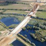 Half way mark for Huntingdon project