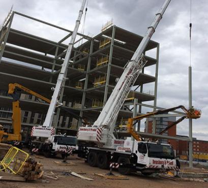 Birmingham City University's £31m expansion utilises FP McCann's hollowcore flooring